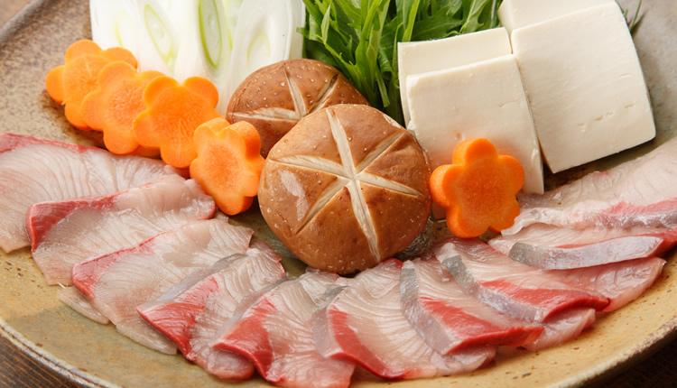 季節の魚しゃぶしゃぶコース